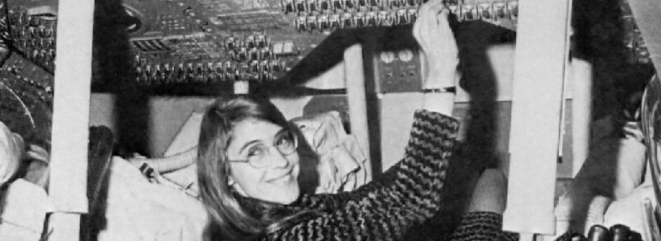 Margaret Hamilton in the Apollo 11