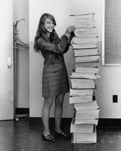 Margaret Hamilton con il software